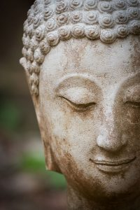Buddha meditatiing